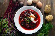 Zupa z botwinki i ziemniaków