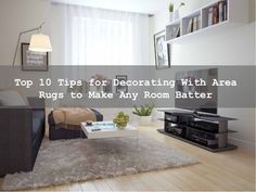When you thinking for use an area rugs in living room, it is most important that you anchor it to something. Decorate area rugs that match with your interior designs & furniture. Whether it is traditional area rugs decor or modern area rugs decor you can just match all colors combination and designs with all decor.