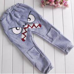 #AliExpress PY216  2-7Y Cute Bird Pattern Pants Kids Toddler Baby Boys Cotton Warm Harlan Pants Trousers (32796848882) #SuperDeals