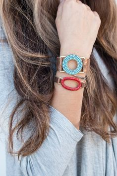 Leather Beaded Bracelets