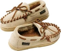 Cabela's Kids Suede Moccasins...Dylan would say he was like Granddaddy!