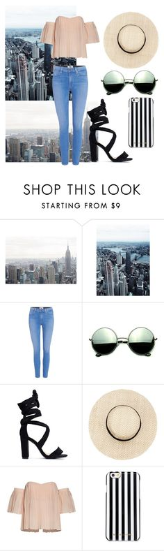 """Senza titolo #921"" by elizabeth-xsomosmasqueamorr ❤ liked on Polyvore featuring Paige Denim, Revo and MICHAEL Michael Kors"