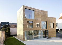 Aus Holz gebaut - Frankfurt: CUBE Magazin