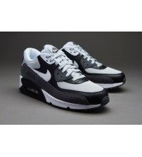 c78fe7fca017 Air Max 90 Essential Grey Mist White Black Trainer Outlet. Sale UkMens  TrainersCheap Nike ...