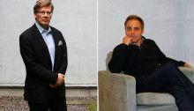 Talousprofessorit Pertti Haaparanta ja Mika Maliranta ovat seuranneet hallituksen toimia kasvavan hämmenyksen vallassa. Kuvat: Saana Katila (kuvien taustoja muokattu)