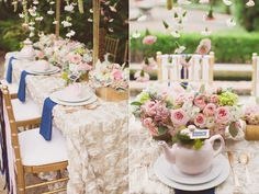 French Garden Bridal Shower Inspiration  Design by Southern Grace Events & Gatherings LLC.