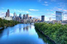 Philadelphia - Downtown Philadelphia - Click image to find more Travel Pinterest pins