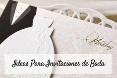 ideas para invitaciones de boda