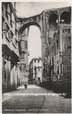 Salita Santa Caterina before 1873