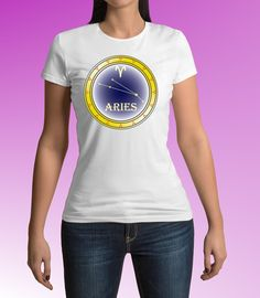 Aries sign of zodiac, zodiac tees, astrology t-shirt, Aries T-shirt, men's tee shirt, women's tee shirt, Spreadshirt $16.95