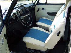 1970 Squareback - Type 3. Refurbished - Interior.