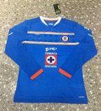 Cruz Azul 2015-2016 Season Home Soccer Jersey LS