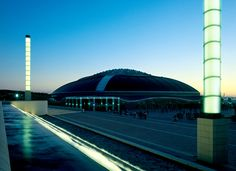 Barcelona. The Montjuïc Olympic Ring and the Palau Sant Jordi building. Picture by Lluís Carro