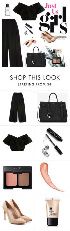 """Better days are coming!"" by tsaniaardhani on Polyvore featuring Yves Saint Laurent, Rachel Comey, Bobbi Brown Cosmetics, Charlotte Russe and Alexander McQueen"