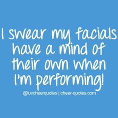 I become a completely different person when I perform