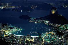 Guanabara Bay & Sugarloaf - Rio de Janeiro, Brazil by ©miguel valle de figueiredo, via Flickr