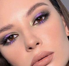 Natural Glam Makeup, Subtle Makeup, Orange Eye Makeup, Colorful Eye Makeup, Dark Makeup Looks, Rhinestone Makeup, Eye Makeup Designs, Spring Makeup, Makeup Obsession