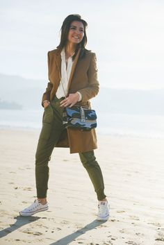 atlantic ocean - Lovely Pepa by Alexandra bag: Valentino (au/w (similar here , also love this one) coat: Zara (au/w pants: Zara (old) shirt: Suiteblanco (au/w shoes: Converse All Star bracelet: Ouibyou watch: Sheen de Casio All About Fashion, Love Fashion, Olive Pants, Converse Style, Converse Sneakers, Cozy Winter Outfits, Fall Outfits, Old Shirts, Outfit Combinations