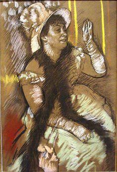 Portrait of Madame Deitz-Monnin 1879, by Edgar Degas