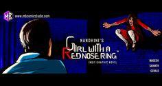 MB Comics Studio - Girl with a Red Nose Ring - Nandhini JS - Comics, Comic Books, Comic Book, Romance, Romantic Thriller, Horror Comics, Horror Art, Comics Art, Indian Comics, Graphic Novel, Indie Comics, Indie Graphic Novel, Thriller Comics