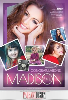 #AWESOMEpageantAD designed for Madison Raley | GET IN TOUCH if you need an awesome-looking, professionally-designed ad page! | #PageantDesign Graphic design solutions for all your pageantry needs! | For samples, check out: www.pageantdesign... and like us on facebook: www.facebook.com/... | ALL STATES, ALL AGES, ALL PAGEANTS SYSTEMS WELCOME! #PageantAds #AWESOMEpageantADS