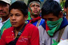 Con la Guardia Indígena de Colombia