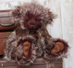 Charlie Bear Mulberry Teddy Bear Cottage - Collectable Charlie Bears