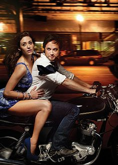 Possible Ana & Christian (Emmy Rossum & Justin Chatwin)