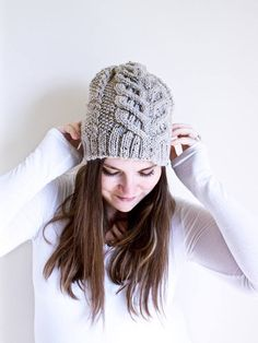 97d2f423b94 Aine Hat pattern by Mara Catherine Bryner