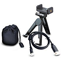 Accessory Set for UO Smart Beam Laser, Micro HDMI cable, Tripod & Holder, Pouch - KDCUSA