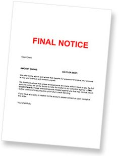 67 best debt collection agency images on pinterest collection debt collection letter letter of demand example template spiritdancerdesigns Images