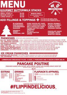 Menu | Flapjack's Pancake Shack Inc.
