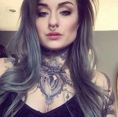 I've never met Ryan Ashley Malarkey but I trust her, I just trust her. Also people who don't at least like her completely baffle me. Sexy Tattoos For Girls, Inked Girls, Girl Tattoos, Tattooed Girls, Ryan Ashley Tattoo, Ryan Ashley Malarkey, Tattoos To Cover Scars, Alternative Girls, Gothic Beauty