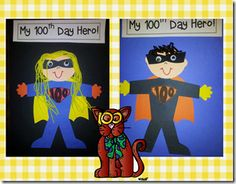 SO much fun for the day of school. A day full of learning and fun! Superhero Kindergarten, Superhero Classroom Theme, Kindergarten Crafts, Preschool Math, Kindergarten Reading, Kindergarten Classroom, Classroom Themes, Super Hero Day, Super Heros