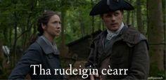Tha rudeigin cèarr - Something is wrong (ha ROOtehken KEYahr) Celtic Crafts, Gaelic Words, Scottish Gaelic, Outlander Series, Great Movies, Movie Tv, Scotland, Irish, Film