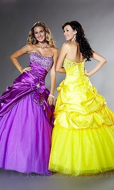 Rapunzel and Belle prom dress