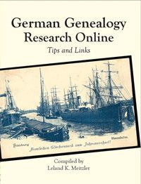 Review of German Genealogy Research Online: Tips and Links by Leland Meitzler. Written to help genealogists with online research, the books deals with using the internet to advance an individual's Germanic genealogy.