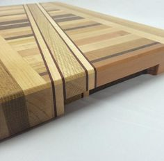 this board is big enough for the big jobs Made of multicolored hardwoods Large Traditional Hardwood Cutting Board