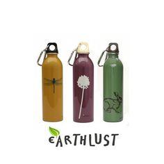Earthlust ecologische waterflessen - Moodadventures.nl