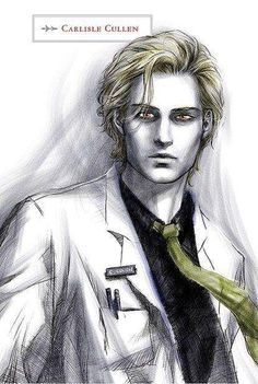 How Stephenie Meyer envisioned Dr. Carlisle Cullen to look ^