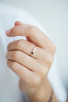 Anna Inspiring Jewellery Ring Alex in 18 KT Rose Gold