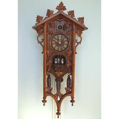 Schneider Cuckoo Clocks Delicate Wood Ornaments Cuckoo Clock