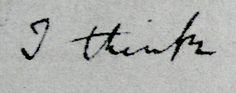 """darwin """"i think"""" - tattoo"""