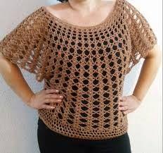 Resultado de imagem para blusas a crochet