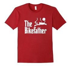 Cool The Bikefather Motorcycle Biker T-Shirt