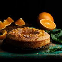 Bizcocho de naranja y chocolate - Los Tragaldabas