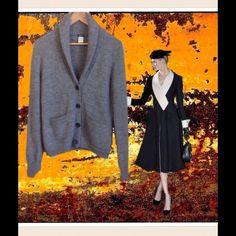 "Selling this ""J. Crew Gray Shawl Collar Alpaca Cardigan"" in my Poshmark closet! My username is: edmee01. #shopmycloset #poshmark #fashion #shopping #style #forsale #J. Crew #Sweaters"