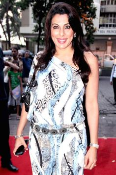 Pooja Bedi at the launch of launch of new jewellery line by Raveena Tandon. #Bollywood #Fashion #Style #Beauty #Page3