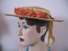 Boater Hat Treasury by Jessie Noah on Etsy