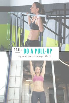 GOAL do a pullup. Want to do a full pull-up, or increase the amount you can do? This post has exercises and tips to strengthen your pull-up muscles. Add these exercises and form cues into your routine, and you'll be cranking out pull-ups before you know it. fitnessista.com